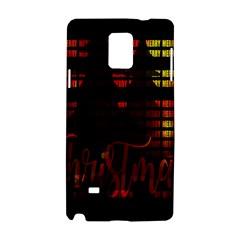 Christmas Advent Gloss Sparkle Samsung Galaxy Note 4 Hardshell Case