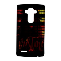 Christmas Advent Gloss Sparkle LG G4 Hardshell Case