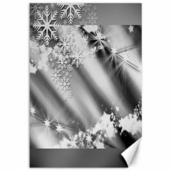 Christmas Background  Canvas 12  x 18
