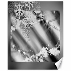 Christmas Background  Canvas 11  X 14