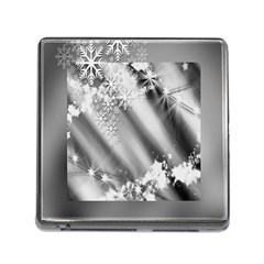 Christmas Background  Memory Card Reader (Square)