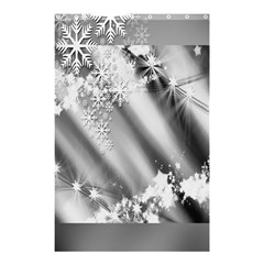 Christmas Background  Shower Curtain 48  x 72  (Small)