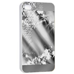 Christmas Background  Apple iPhone 4/4s Seamless Case (White)