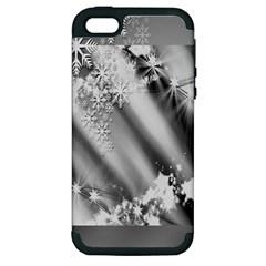 Christmas Background  Apple Iphone 5 Hardshell Case (pc+silicone)