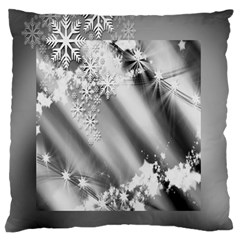 Christmas Background  Standard Flano Cushion Case (one Side)