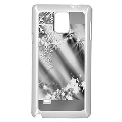 Christmas Background  Samsung Galaxy Note 4 Case (white)