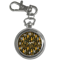Christmas Background Key Chain Watches