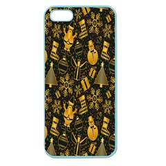 Christmas Background Apple Seamless iPhone 5 Case (Color)