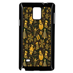 Christmas Background Samsung Galaxy Note 4 Case (black)