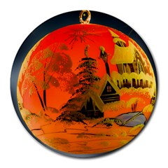 Christmas Bauble Round Mousepads