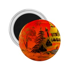 Christmas Bauble 2.25  Magnets