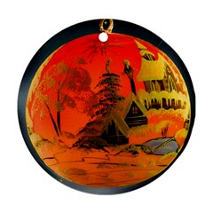 Christmas Bauble Ornament (round)