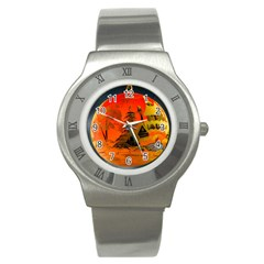 Christmas Bauble Stainless Steel Watch