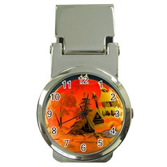 Christmas Bauble Money Clip Watches