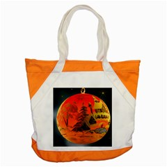Christmas Bauble Accent Tote Bag