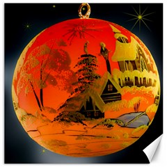 Christmas Bauble Canvas 16  x 16