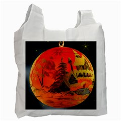 Christmas Bauble Recycle Bag (Two Side)