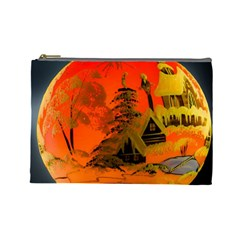 Christmas Bauble Cosmetic Bag (large)