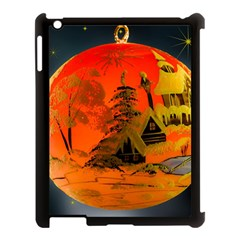 Christmas Bauble Apple iPad 3/4 Case (Black)