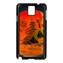 Christmas Bauble Samsung Galaxy Note 3 N9005 Case (Black)