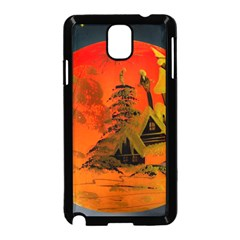 Christmas Bauble Samsung Galaxy Note 3 Neo Hardshell Case (black)