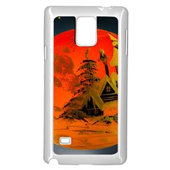 Christmas Bauble Samsung Galaxy Note 4 Case (White)