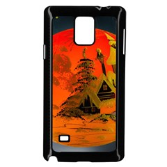 Christmas Bauble Samsung Galaxy Note 4 Case (black)