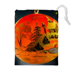 Christmas Bauble Drawstring Pouches (Extra Large)