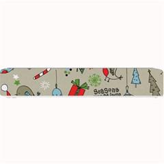 Christmas Xmas Pattern Small Bar Mats