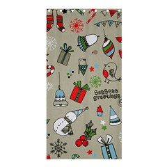 Christmas Xmas Pattern Shower Curtain 36  x 72  (Stall)