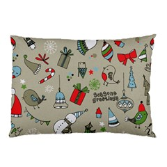 Christmas Xmas Pattern Pillow Case (Two Sides)