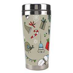 Christmas Xmas Pattern Stainless Steel Travel Tumblers