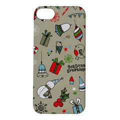 Christmas Xmas Pattern Apple Iphone 5s/ Se Hardshell Case