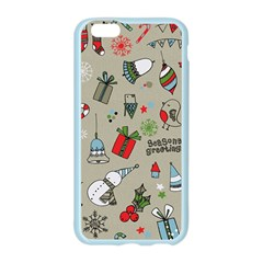 Christmas Xmas Pattern Apple Seamless iPhone 6/6S Case (Color)
