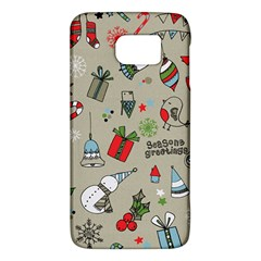 Christmas Xmas Pattern Galaxy S6