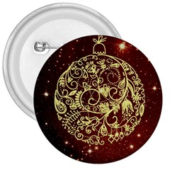 Christmas Bauble 3  Buttons