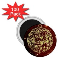 Christmas Bauble 1.75  Magnets (100 pack)