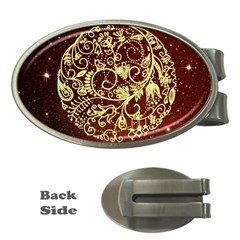 Christmas Bauble Money Clips (oval)
