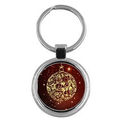 Christmas Bauble Key Chains (Round)