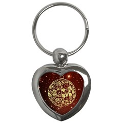 Christmas Bauble Key Chains (Heart)