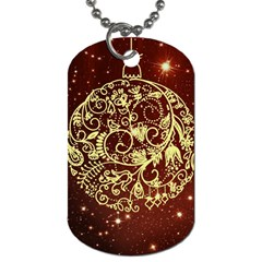 Christmas Bauble Dog Tag (Two Sides)