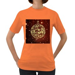 Christmas Bauble Women s Dark T-Shirt
