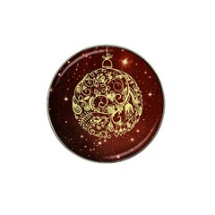 Christmas Bauble Hat Clip Ball Marker