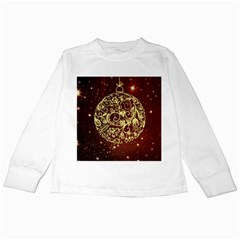 Christmas Bauble Kids Long Sleeve T-Shirts