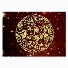 Christmas Bauble Large Glasses Cloth