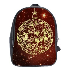 Christmas Bauble School Bags(Large)