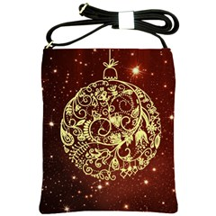 Christmas Bauble Shoulder Sling Bags