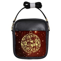 Christmas Bauble Girls Sling Bags