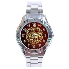 Christmas Bauble Stainless Steel Analogue Watch