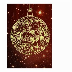 Christmas Bauble Small Garden Flag (two Sides)